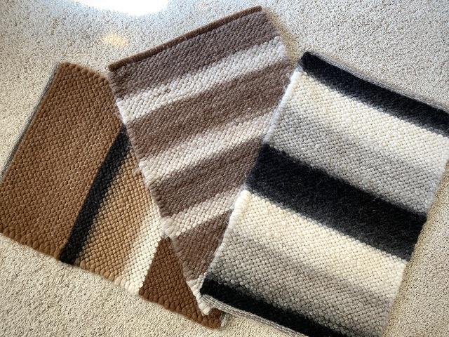 Hand-Woven Alpaca Bathmats