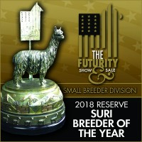 Futurity Reserve Suri Breeder of the Year