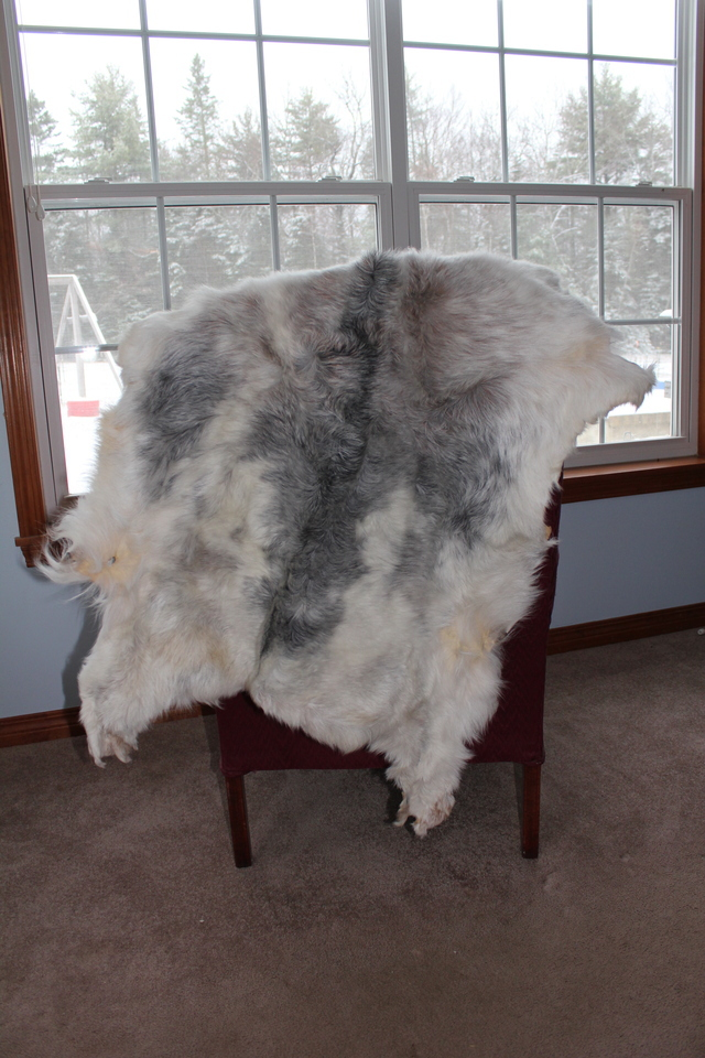 Decorative, stylish goat pelts rugs or throws for any occasion