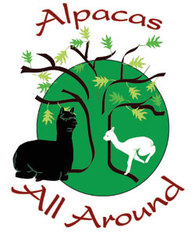 Alpacas All Around - Logo
