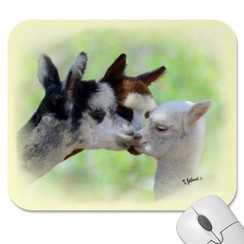 Customizable Three Alpacas Mousepad
