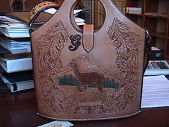 Leather Art - Alpaca Purse