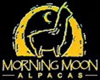 Morning Moon Alpacas - Logo