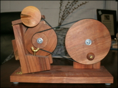 Cherry Tabletop spinning wheel -SOLD OUT