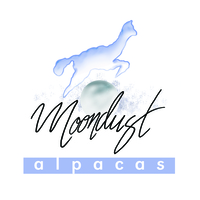 Moondust Alpacas Products - Logo