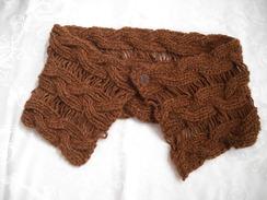 Photo of Alpaca hand knit shawl