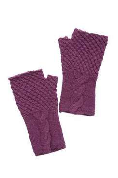Photo of Women's Cable Fingerless Gloves