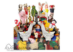 Classic Alpaca Finger Puppets