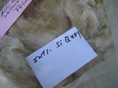 Photo of Lt Fawn Huacaya Blanket Fleece >4lbs!