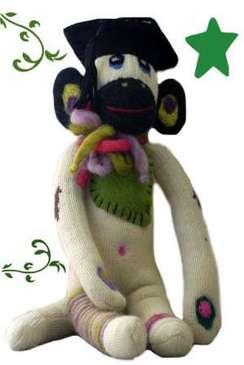 Photo of Graduation Monkey