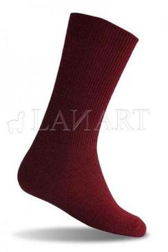Ladies Solid Dress Sock