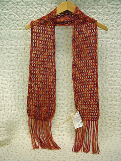 Hand Crochet Scarf-Includes Shipping