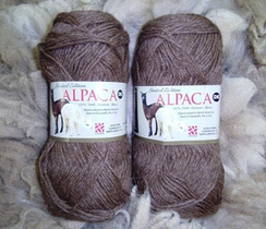 Photo of 100% Alpaca DK Yarn - Brown