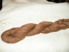 Photo of Fawn Suri Yarn