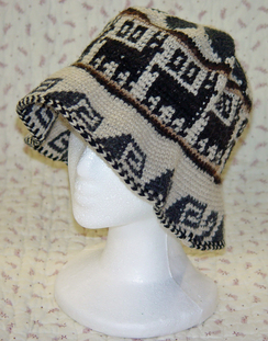 Alpaca Roll Up Hat-Includes Shpg