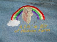 A lit'le Bit of Heaven Farm - Logo