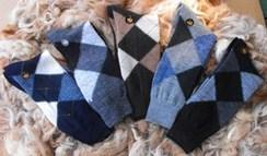 Alpaca Argyle Socks