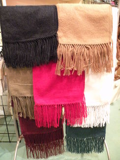 Photo of Alpaca Blended Woven Scarves