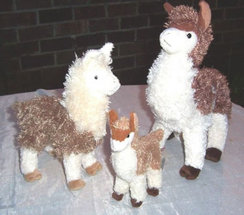 Photo of Stuffed Alpacas