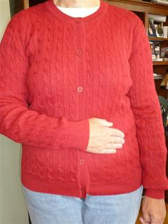 Photo of Madras Cable Classic Cardigan