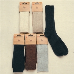 Alpaca Copper Crew Socks