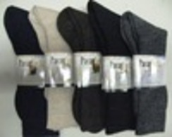 Ladies Solid Dress Socks