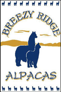 Breezy Ridge Alpacas  - Logo