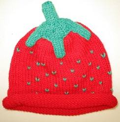 Photo of Kid's Strawberry Hat
