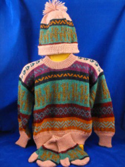 Photo of Kid's Deluxe Sweater Set