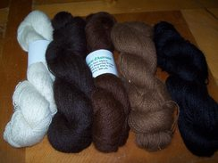 Natural Colored Suri Alpaca Yarn