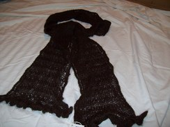 Photo of 100% Suri Lace Scarf