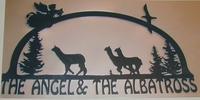 The Angel and The Albatross Alpaca Farm - Logo