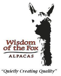 Wisdom of the Fox Alpacas - Logo