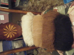 raw fiber and carded batts