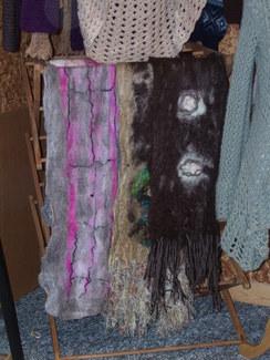 Photo of Nuno Felted Alpaca Scarves