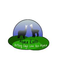 Alpaca Knolls - Logo