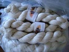 Suri Alpaca Yarn - White