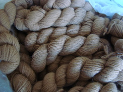 Huacaya Alpaca Yarn - Fawn Worsted