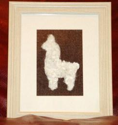 Alpaca Fiber Art  - Suri Alpaca