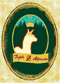 The Triple Z Alpaca Farm - Logo