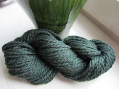Forest Green Chunky Alpaca Yarn