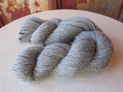 Pure Alpaca in Medium/Light Silver Grey
