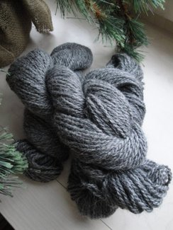 Pure Alpaca in Dark Silver Grey