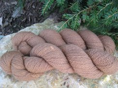 Photo of Awesome Dark Fawn Alpaca Yarn