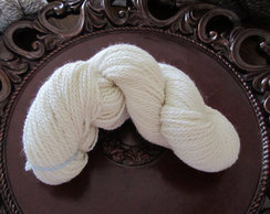 Natural White Pure Alpaca Yarn - Lovely