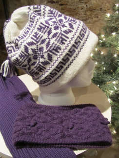 Photo of Hand Made Alpaca Hat From Irish Meadows