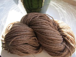 Dark Caramel Pure Alpaca Yarn - Gorgeous