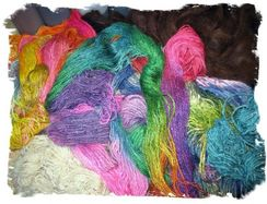 Hand Spun Yarn in Several Natural Colors