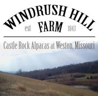 Castle Rock Alpacas at Windrush Hill Farm - Logo
