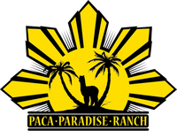 Alpacas at Paca Paradise Ranch - Logo